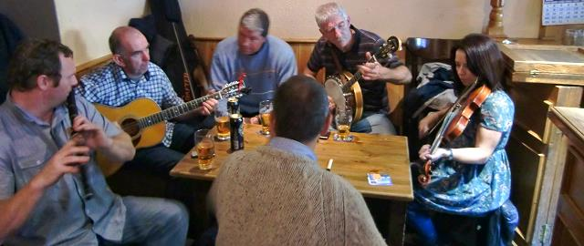 Pub session in Milltown Malbay